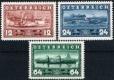 Österreich, 1937, ANK Nr. 639 - 641, MICHEL Nr. 639 - 641, 100 Jahre Erstfahrt des DDSG-Dampfers Maria Anna, postfrisch, DB D498