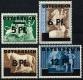 664 - 667, 2. Wiener Aushilfsausgabe, postfrisch