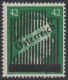 673 II, 3. Wiener Aushilfsausgabe 42 Pfennig Type II ein Druckgang, dicker Balken, postfrisch