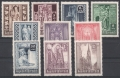 ANK Nr. 799 - 808, Michel Nr. 791 - 800, Wiederaufbau des Stephansdomes, postfrisch