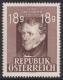 ANK Nr. 809, Michel Nr. 802, Franz Grillparzer, gerasteter Grund, postfrisch