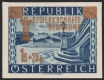 Österreich, 1953, ANK Nr. 996 U, MICHEL Nr. 983 U, 60 Jahre Gewerkschaftsbewegung in Österreich, UNGEZÄHNT, postfrisch, ATTEST Soecknick