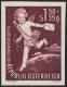 Österreich, 1952, ANK Nr. 988 U, MICHEL Nr. 972 U, Tag der Briefmarke 1951 ( AMOR ) - UNGEZÄHNT - postfrisch, ATTEST Soecknick