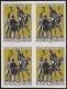 Österreich, 1963, ANK Nr. 1159 U, MICHEL Nr. 1129 U, Pariser Postkonferenz UNGEZÄHNT im 4er-Block, postfrisch, DB CG22672D