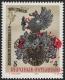 Österreich, 1982, ANK Nr. 1732 V, MICHEL Nr. 1701 F, 500 Jahre Druck in Österreich mit ABART STARK VERSCHOBENER ROTDRUCK, postfrisch, ATTEST Soecknick