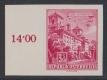 ANK Nr. 1107 U, Michel Nr. 1120 U, Freimarkenausgabe: Baudenkmäler bzw. Bauten, 3 S 50 Groschen ungezähnt vom linken Bogenrand, postfrisch