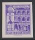 ANK Nr. 1111 U, Michel Nr. 1054 U, Freimarkenausgabe: Baudenkmäler bzw. Bauten, 6 S ungezähnt, postfrisch