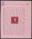 K.u.K. Militärpost Bosnien-Herzegowina, ANK Nr. 81 P, MICHEL Nr. 81 P, Freimarkenausgabe 1912 - 2 Kronen in karmin im ungezähnten Einzelabzug im Kleinbogenformat auf rosa Papier, ohne Gummierung wie hergestellt - SEHR SELTEN !! - DB VF2784