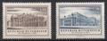 Österreich, 1955, ANK Nr. 1029-1030, MICHEL Nr. 1020-1021, Eröffnung von Burgtheater und Staatsoper, postfrisch, DB D1016