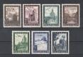 ANK Nr. 820 - 826, Michel Nr. 822 - 828, Flugpostausgabe 1947, postfrisch