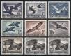 Österreich, 1950/53, ANK Nr. 967 - 973 a + b + c, MICHEL Nr. 955 , 956, 968 x + y + z, 984 - 987, Flugpostserie