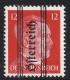 ANK Nr. 681 ax, Michel Nr. 681 x, 12 Pfg. Grazer Aushilfsausgabe, geriffelter Gummi, postfrisch