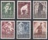 ANK Nr. 838 - 843 Michel Nr. 829 - 834, Kriegsgefangene, postfrisch