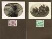 Nr. 180 + 181, Kriegswohltätigkeitsmarken 1915, Werte zu 3 Heller + 5 Heller als Fotovorlagen vor dem regulären Druck der Auflage hergestellt, sehr dekorativ