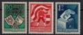 ANK Nr. 964 - 966, Michel Nr. 952 - 954, 30. Jahrestag der Kärntner Volksabstimmung, postfrisch, DB D739