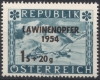 ANK Nr. 1007, Michel Nr. 998, Lawinenopfer 1954, postfrisch