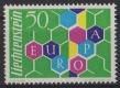 Fürstentum Liechtenstein, Michel Nr. 398, Europamarke 1960 mit verschobenen Druckgängen der Farben violett und hellblau, postfrisch