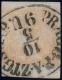 ANK Nr. 7 I b, Michel Nr. 7 I b, Ferchenbauer Nr. 7 I b, Zeitungsmarke-Ausgabe 1851,