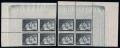 Österreich, 1935, ANK Nr. 597 Us + 597 Uw, MICHEL Nr. 597 Us + 597 Uw, Muttertag 1935 - 24 Groschen im 4er-Block SENKRECHT UNGEZÄHNT und im 4er-Block WAAGRECHT UNGEZÄHNT, postfrisch, je mit ATTEST Soecknick