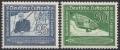 Michel Nr. 669 - 670, ANK Nr. 669 - 670, 100. Geburtstag des Grafen Ferdinand von Zeppelin, postfrisch