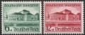 Michel Nr. 673 - 674, ANK Nr. 673 - 674, Gautheater Saarpfalz, postfrisch