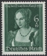 Michel Nr. 700, ANK Nr. 700, Tag der Deutschen Kunst, postfrisch