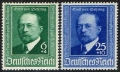 Michel Nr. 760 - 761, ANK Nr. 760 - 761, Emil von Behring, postfrisch