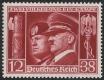 Michel Nr. 763, ANK Nr. 763, Hitler - Mussolini, postfrisch