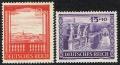 Michel Nr. 804 - 805, ANK Nr. 804 - 805, Wiener Messe, postfrisch
