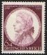 Michel Nr. 810, ANK Nr. 810, 150. Todestag Mozarts, postfrisch