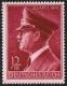 Michel Nr. 813 y, ANK Nr. 813 y, 53. Geburtstag Adolf Hitlers, postfrisch