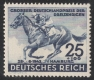 Michel Nr. 814, ANK Nr. 814, Blaue Band 1942, postfrisch