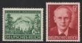 Michel Nr. 855 - 856, ANK Nr. 855 - 856, 100. Geburtstag von Peter Rosegger, postfrisch