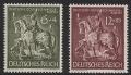 Michel Nr. 860 - 861, ANK Nr. 860 - 861, Deutsche Goldschmiedekunst, postfrisch