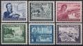 Michel Nr. 888 - 893, ANK Nr. 888 - 893, Postkameradschaft, postfrisch