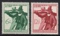 Michel Nr. 897 - 898, ANK Nr. 897 - 898, Tiroler Landesschießen, postfrisch