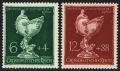Michel Nr. 902 - 903, ANK Nr. 902 - 903, Deutsche Goldschmiedekunst, postfrisch