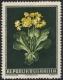 Österreich, 1950, Heimische Blumen, NICHT VERAUSGABTE BRIEFMARKE - Probedruck des nicht verausgabten Motivs