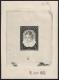 """Österreich, 1952, ANK Nr. 993, MICHEL Nr. 976 Ph, Internationale Kinderkorrespondenz als Probedruck Phasendruck 2. Phase in schwarz auf gummiertem Papier vom 5. Juli 1952 - ATTEST Soecknick """"echt und einwandfrei"""" - SEHR SELTEN"""