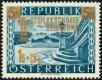 Österreich, 1953, ANK Nr. 996 III, MICHEL Nr. 983 V, Gewerkschaftsbewegung mit Plattenfehler 2 Bäumchen, postfrisch