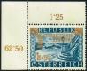 Österreich, 1953, ANK Nr. 996 IV, MICHEL Nr. 983 VI, Gewerkschaftsbewegung mit Plattenfehler Licht im Tor, postfrisch