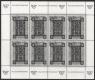 Schwarzdruck-Kleinbogen, Tag der Briefmarke 1992, postfrisch