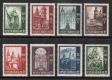 ANK Nr. 931 - 938, Michel Nr. 885 - 892, Salzburger Domserie, postfrisch
