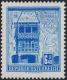 """Österreich, 1957/70, ANK Nr. 1112 P(V), MICHEL Nr. 1055, Freimarkenausgabe: Bauwerke und Baudenkmäler, 6.40 S """"GOLDENES DACHL - INNSBRUCK"""" - Papierprobe auf weißem Papier mit starkem Aufheller, postfrisch, ATTEST Soecknick """"echt und einwandfrei"""", DB"""