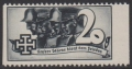 1938, Schuschnigg - Wahlwerbevignetten, Wert zu 20 Groschen in Grauschwarz, Randstück vom rechten Bogenrand, postfrisch, Luxuserhaltung, DB