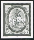 Schwarzdruck, Tag der Briefmarke 1985, postfrisch