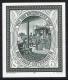 Schwarzdruck, Tag der Briefmarke 1987, postfrisch