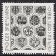 Schwarzdruck, Tag der Briefmarke 1990, postfrisch, etwas vergilbt, darum Abverkauf - DB D1331