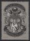 Schwarzdruck, Tag der Briefmarke 1995, postfrisch