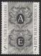 Schwarzdruck, Tag der Briefmarke 1997, postfrisch